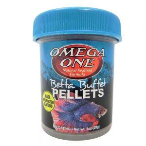 omega one buffet pellet betta food