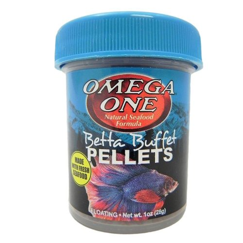 omega one buffet pellet betta food