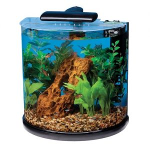 tetra half moon aquarium kit
