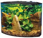 tetra crescent acrylic aquarium kit s