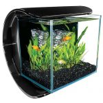 marineland silhouette square glass aquarium kit