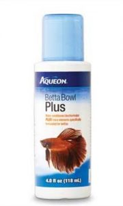 aqueon betta bowl plus water conditioner and dechlorinator